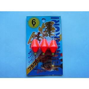 商品説明 マルシン漁具 ブラクリ仕掛(3個入) 6号 です。  アイナメ、メバル、カサゴなど根魚に!...