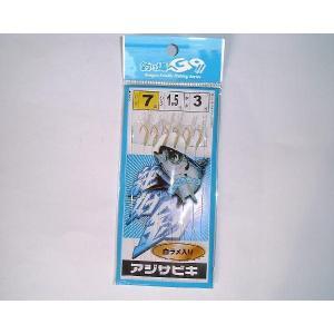 マルシン漁具 アジサビキ 白の商品画像