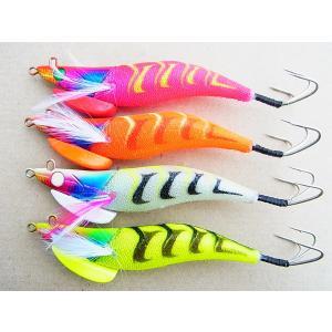 マルシン漁具 3.5号 ラトル内臓タコエギ レッツ ライド 3.5号|turikoubou|02
