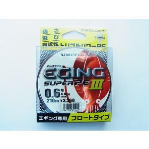 商品説明 ユニチカ キャスライン エギングスーパーPE3 0.6号-210m です。  ●素材:スー...