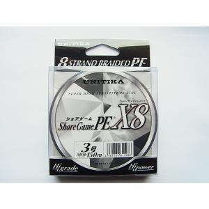 商品説明  ユニチカ ショアゲーム PE X8 150m 3号-50lb です。  ショアゲーム専用...