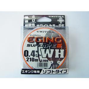 商品説明  ユニチカ キャスライン エギングスーパーPE3 WH 0.4号-210m です。  ●素...