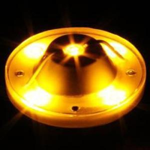 驚異の明かるさ!!1ワットLEDを5個搭載☆【LED5ハイパワーバスマーカーランプ専用ユニットアンバーDC24V】 turn-wadayama