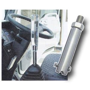 いすゞクラッチフリー車用シフトノブアダプター(スムーサー搭載)|turn-wadayama