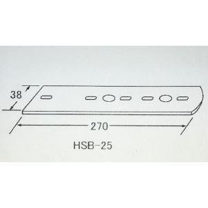 マーカーステー2連用(ステンレス)HSB-25