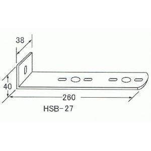 マーカーステー2連用(ステンレス)HSB-27