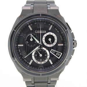シチズン アテッサ エコドライブ 25周年記念モデル メンズ H610-T018866 限定モデル 電波時計 【時計】|turuya783
