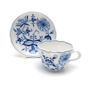 [商品名] マイセン ブルーオニオン 兼用 カップ&ソーサー  [カラー] ホワイト ブルー [素材...