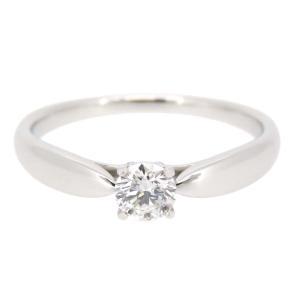 ティファニー ハーモニー ソリティア リング 1ポイント ダイヤ クラシック エンゲージリング 結婚指輪 Pt950 【ジュエリー】|turuya783