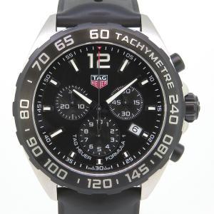 タグホイヤー フォーミュラ1 クロノグラフ メンズ 箱ギャラ付 【時計】|turuya783