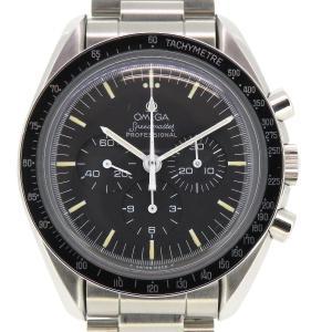 オメガ スピードマスター プロフェッショナル 5TH アポロ11号20周年記念 メンズ ギャラ付 トリチウム夜光 下がりr カマボコブレス 【時計】|turuya783