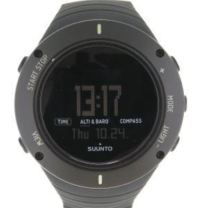 スント コア アルティメット ブラック メンズ 箱ギャラ付 アウトドア 登山 【時計】|turuya783