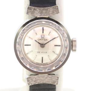 オメガ デビル カットガラス アンティーク・ヴィンテージ レディース 1960年代製造 デヴィル デ・ヴィル 【時計】 turuya783