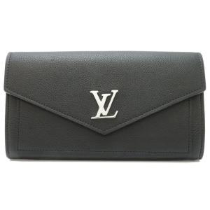 ルイヴィトン ポルトフォイユ マイロックミー 長財布 M62530 二つ折り財布 ブラック 【財布】|turuya783
