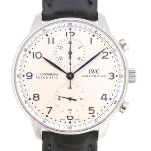 IWC ポルトギーゼ クロノグラフ メンズ ギャラ付 【時計】|turuya783