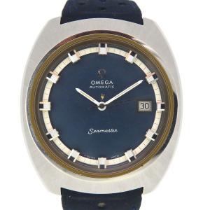 オメガ シーマスター アンティーク・ヴィンテージ メンズ 1970年代製造 ブルーダイヤル 【時計】 turuya783
