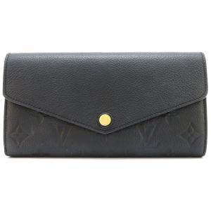 ルイヴィトン ポルトフォイユ サラ アンプラント 長財布 M61182 二つ折り財布 ブラック 【財布】|turuya783