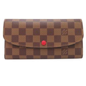 ルイヴィトン ポルトフォイユ エミリー ダミエ 長財布 N63544 二つ折り財布 未使用品 【財布】 turuya783