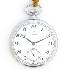 オメガ ポケットウォッチ アンティーク・ヴィンテージ メンズ 1930年代製造 ポーセリンダイヤル 【時計】|turuya783