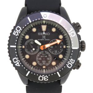 セイコー プロスペックス ダイバースキューバ ソーラー クロノグラフ 特別限定モデル メンズ V175-0AD0 箱ギャラ付 リミテッドエディション 【時計】|turuya783
