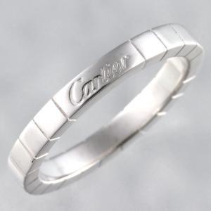 新品仕上げ Cartier カルティエ K18WG ラニエール リング メンズ スクエア ウェディング 結婚指輪 #60 19.5号 幅3.0mm|turuya783