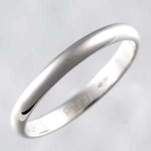 新品仕上げ Cartier カルティエ Pt950 クラシック ウェディング リング バンドリング 結婚指輪 マリッジリング #51 11号 幅2.5mm|turuya783