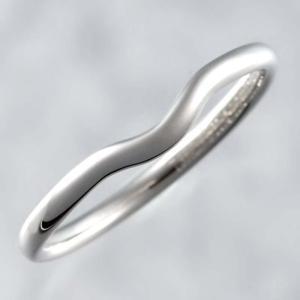新品仕上げ Tiffany ティファニー Pt950 カーブド バンドリング ウェディングリング 結婚指輪 マリッジリング エルサ ペレッティ 20.5号 幅2.2mm