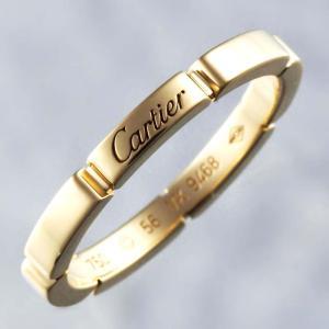 新品仕上げ Cartier カルティエ K18YG マイヨン パンテール ウェディング リング バンドリング 結婚指輪 マリッジリング #56 16号 幅2.5mm|turuya783