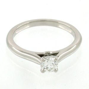 新品仕上げ Cartier カルティエ Pt950 1ポイント ダイヤモンド ソリテール リング 1895 エンゲージリング 婚約指輪 ソリティア #49 (9号)|turuya783