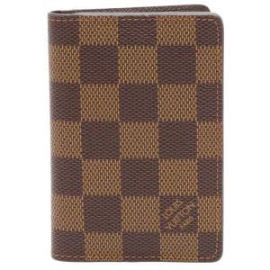 LOUIS VUITTON ルイヴィトン ポケット オーガナイザー ダミエ カードケース N63145 名刺入れ 中古|turuya783