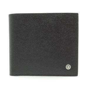 Montblanc モンブラン 二つ折り財布 マイスターシュテュック 114693 ウエストサイド ウォレット 4CC コインケース付 未使用品|turuya783