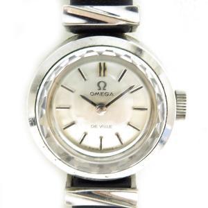 オメガ デビル アンティーク・ヴィンテージ レディース 1969年頃製造 カットガラス デヴィル デ・ヴィル turuya783
