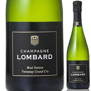 業務店御用達 人気ギフト スパークリング ロンバール ブリュット ナチュール グラン クリュ ヴェルズネ:750ml sparkling wine (75-7)の商品画像|ナビ