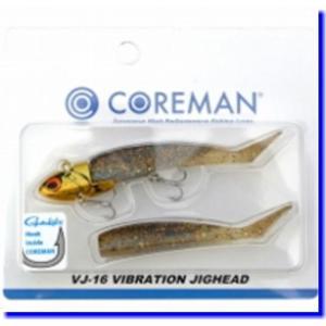 【メール便対応】 コアマン VJ-16 バイブレーションジグヘッド  #045  ゴールドヘッド/ハ...