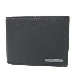 アルマーニ ジーンズ ARMANI JEANS 折財布 二つ折り財布 938538 CC991 00020 ブラック メンズ財布|tutto-brand
