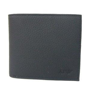 アルマーニ ジーンズ ARMANI JEANS 折財布 二つ折り財布 938540 CC992 00020 ブラック メンズ財布|tutto-brand