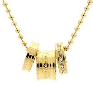 コーチ COACH ネックレス アクセサリー COACH ネックレス 95406 GD/GD|tutto-brand