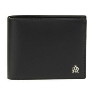 ダンヒル DUNHILL 財布 二つ折り財布 ブラック 黒 ...