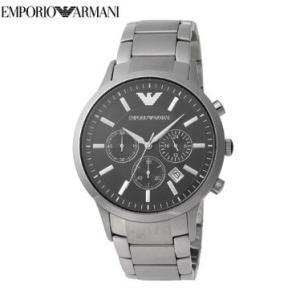 エンポリオアルマーニ EMPORIO ARMANI 時計 腕時計 ブラック AR2434 メンズ腕時計|tutto-brand