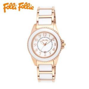 【送料無料】フォリフォリ Folli Follie 時計 腕時計 WF1R001BDW ホワイト レディース tutto-brand