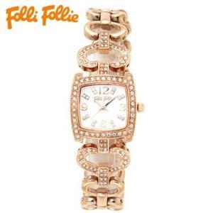 【送料無料】フォリフォリ Folli Follie 時計 腕時計 WF5R120BSS ピンクゴールド レディース tutto-brand