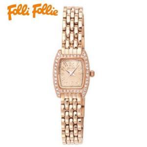 【送料無料】フォリフォリ Folli Follie 時計 腕時計 WF5R142BPP ピンクゴールド レディース tutto-brand