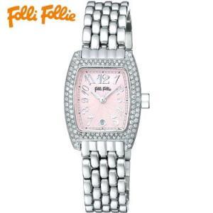 【送料無料】フォリフォリ Folli Follie 時計 腕時計 WF5T081BDP ピンク/シルバー レディース tutto-brand