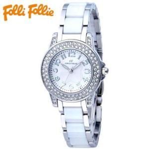 【送料無料】フォリフォリ Folli Follie 時計 腕時計 WF9A020BPS ホワイト/シルバー レディース tutto-brand