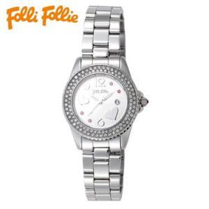 【送料無料】フォリフォリ Folli Follie 時計 腕時計 WF9A049BTS シルバー レディース tutto-brand