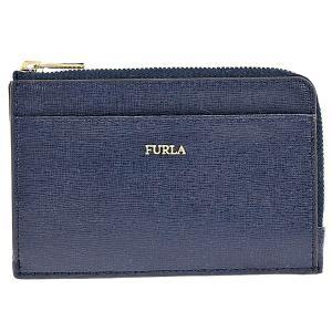 フルラ FURLA カードケース パスケース 小銭入れ  BABYLON レディース レザー PR75 B30 B0L 1034293 BLU NOTTE ネイビー|tutto-brand
