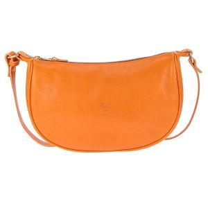 イルビゾンテ IL BISONTE ショルダーバッグ レザー レディース A2145 166 ORANGE オレンジ tutto-brand