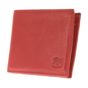 イルビゾンテ IL BISONTE 折財布 二つ折り財布 レザー 革 メンズ C0817 245 ROSSO レッド tutto-brand