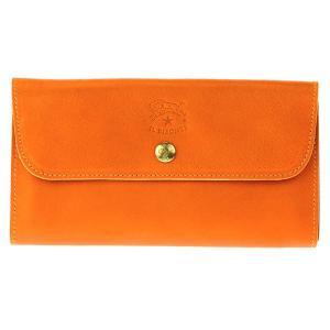 イルビゾンテ IL BISONTE 長財布 レザー 革 メンズ レディース C0842 166 ORANGE オレンジ tutto-brand