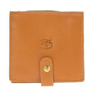 イルビゾンテ IL BISONTE 折財布 二つ折り財布 レザー 革 メンズ レディース C0962 145 CARAMEL ブラウン tutto-brand